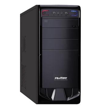 Qoltec PC skříň Arche + zdroj 425W SL