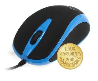 Media-Tech PLANO optická myš, 800 cpi, USB, modro-černá