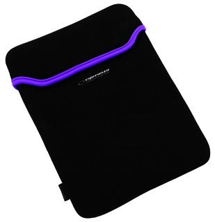 Esperanza ET172V Pouzdro pro tablet 9.7'' (4:3), 3mm neoprén, černo-fialové
