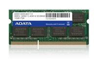 SODIMM DDR3 4GB 1600MHz CL11 ADATA