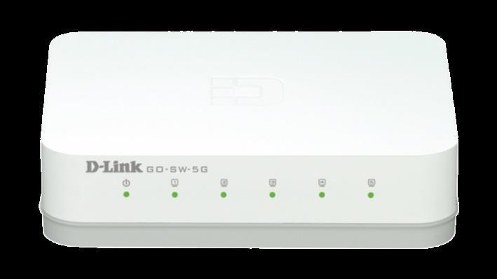 D-Link 5-Port GIGABIT EASY DESKTOP SWITCH