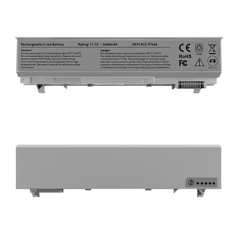 Qoltec Long Life baterie pro notebooky Dell Latitude E6400 E6500|11.1 V|4400 mAh