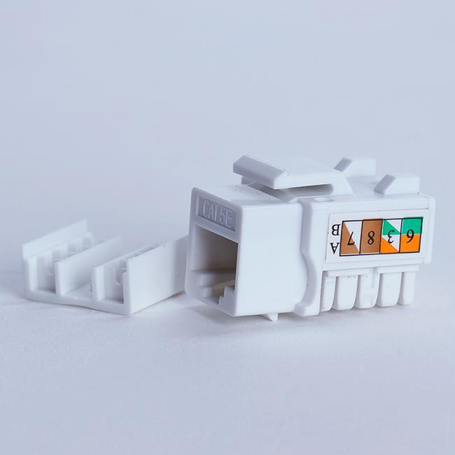 Digitalbox START.LAN Keystone Jack UTP cat. 5e (1xRJ-45) 8P8C 90°, bílý