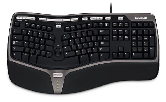 Natural Ergonomic Keyboard 4000 USB Eng (černá)