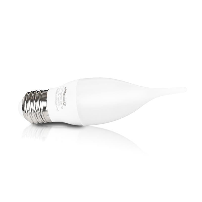 Whitenergy LED žárovka | E27 | 3 SMD 2835 | 5W | 230V | mléko | C30L