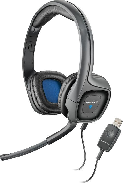 Plantronics AUDIO 655 DSP stereo sluchátka s mikrofonem, USB