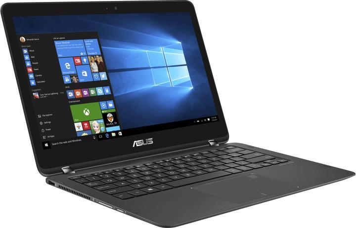 ASUS NB UX360UAK i5-7200U/8G/512SSD/13.3 FHD TOUCH AG/W10Pro Black