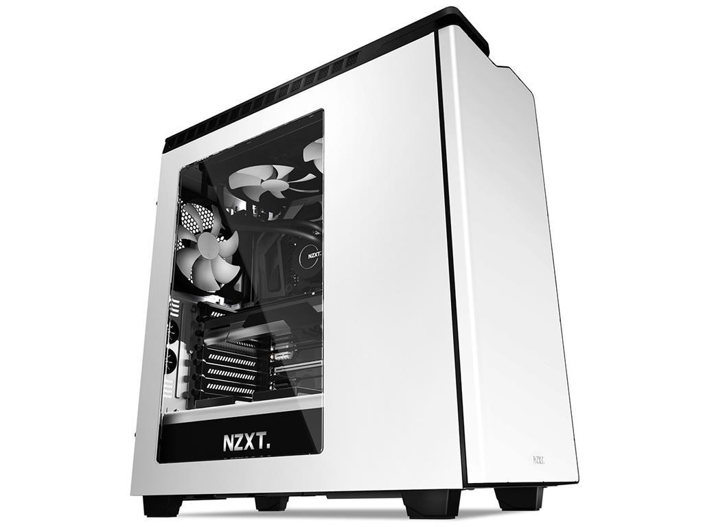 NZXT PC skříň H440, bílo-černá, s oknem