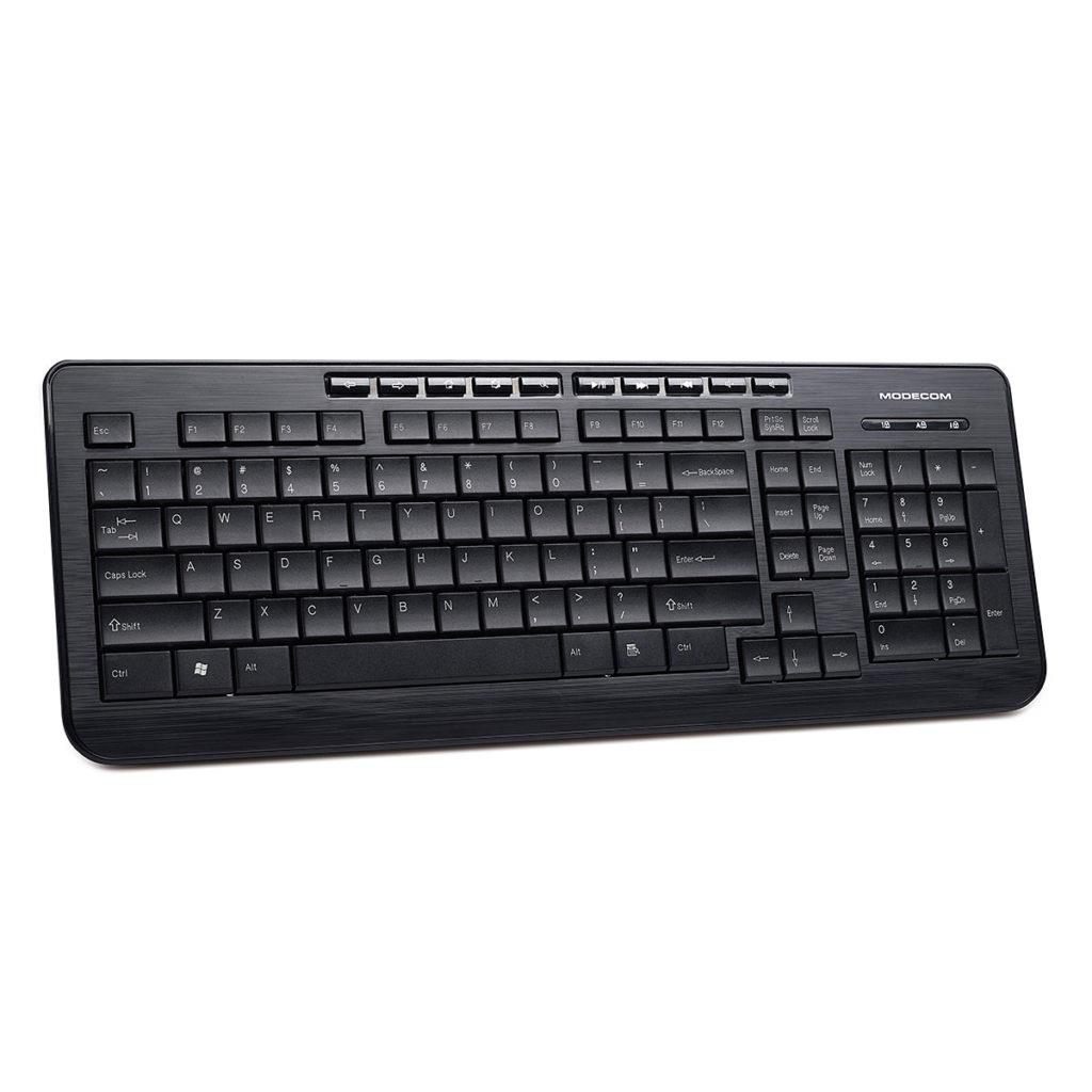 MODECOM klávesnice MC-5005 USB černá