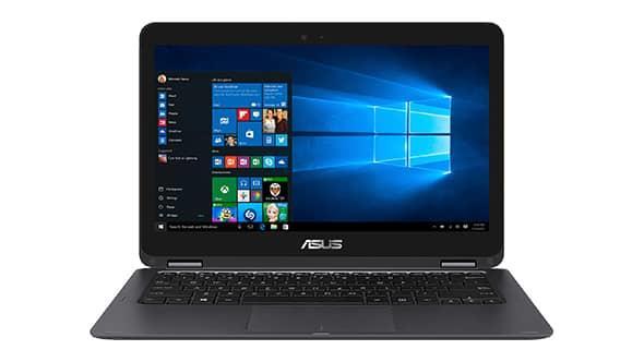 "ASUS NB UX360CA - Core M3-6Y30@2.2GHz, 13.3"" LED FHD touch, intel HD, 4GB, 512G SSD, WiFi, BT, W10, šedá"