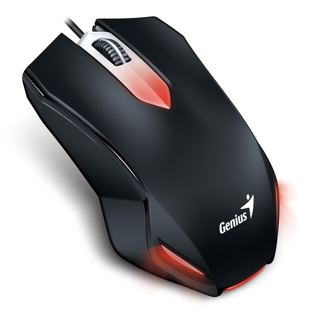 Genius herní myš X-G200 USB, černá