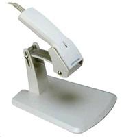 Opticon OPL-6845 laserová čtečka se stojánkem, KBW, světlá