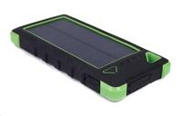 Solární power bank AKULA II 16000mAh, zelená