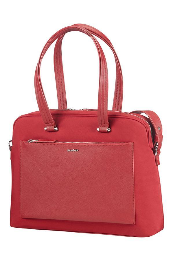 Bag bailhandle SAMSONITE 85D09003 ZALIA 14,1'' comp, pock. tblt, red