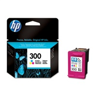 HP 300 Tri-color Ink Cart, 4 ml, CC643EE