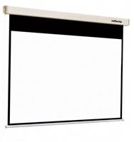 REFLECTA plátno s rolet. mech. se soft. brzdou ROLLO Crystal Lux (160x160cm, 1:1, s 2cm černým okrajem)