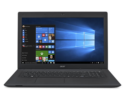 """AcerTravelMate P278-M-38UK i3-6006U/4GB+N/1TB+N/DVDRW/HD Graphics/17.3"""" HD+ matný/BT/W10 Pro/Black"""