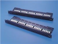 Telefonní patch panel LYNX 25port, 8p4c, výška 1U