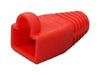 ochrana pro mod.konektor RJ45 - červená, 100ks