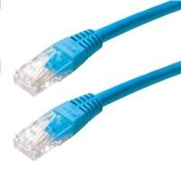 Patch kabel Cat5E, UTP - 2m, modrý
