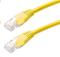 CNS patch kábel Cat5E, UTP - 2m , žltý