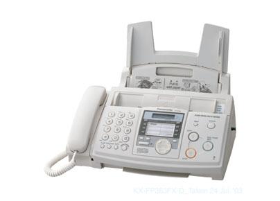 Panasonic KX-FP373CE, termotransferový fax/tel./záznamník
