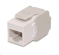 Keystone Cat5E, UTP, samozařezávací, bílý