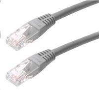 Patch kabel Cat5E, UTP - 40m, šedý