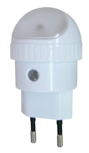 Emos LED noční světlo do zásuvky 230V, 1W LED, s automatickým zapínáním