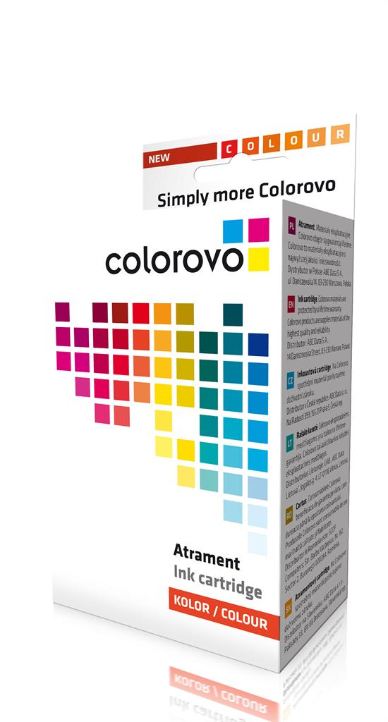 Inkoust COLOROVO 551-Y-XL   Yellow   13 ml   Canon CLI551 XL