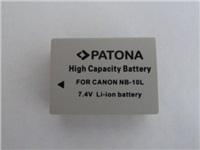 Patona fotobaterie pro Canon NB10l 750mAh