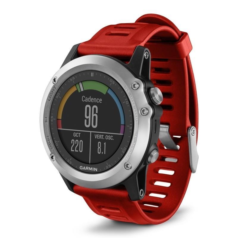 Garmin GPS sportovní hodinky Fenix3 Silver Performer