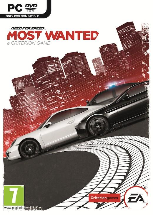 NEED FOR SPEED MOST WANTED PC CZ/SK/HU