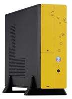 EUROCASE skříň MC8107 micro/desktop yellow (2xUSB, HD audio), bez zdroje