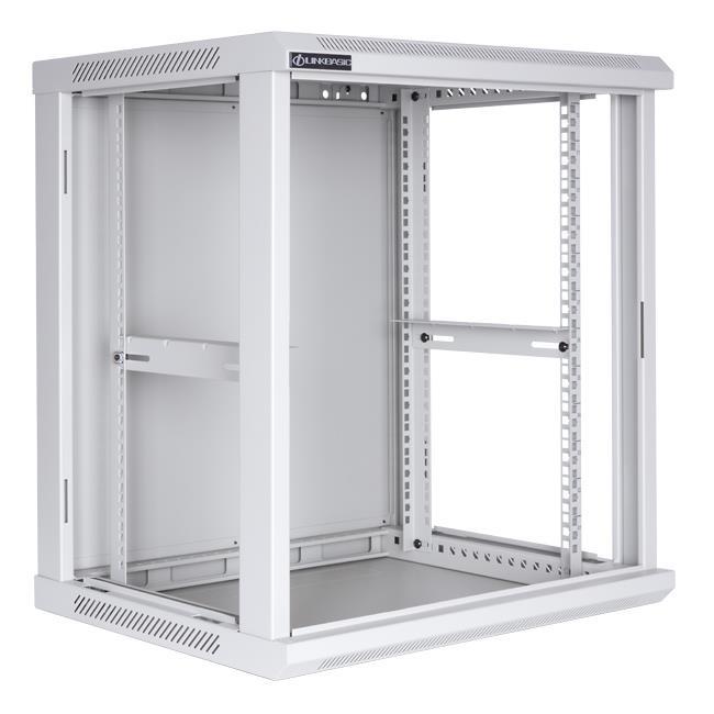 Linkbasic závěsná skříně 19'' 12U 600x450mm - šedá