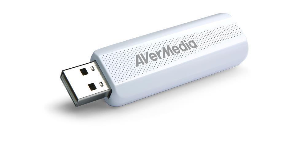 AVerMedia digital TV Tuner TD310, DVB-T2, DVB-T, DVB-C, H.264 HEVC, AVerTV 3D