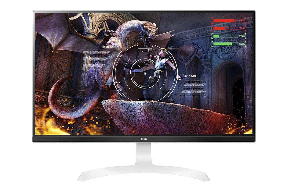 LG Monitor LCD 27UD69-W 27'' IPS, 3840x2160, 5ms