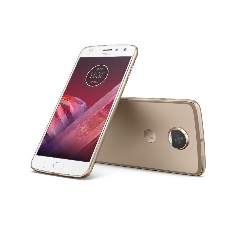 "Motorola Moto Z2 Play Dual SIM/5,5"" AMOLED/1920x1080/Octa-Core/2,2GHz/4GB/64GB/12Mpx/LTE/Android 7.1.1/Fine Gold"