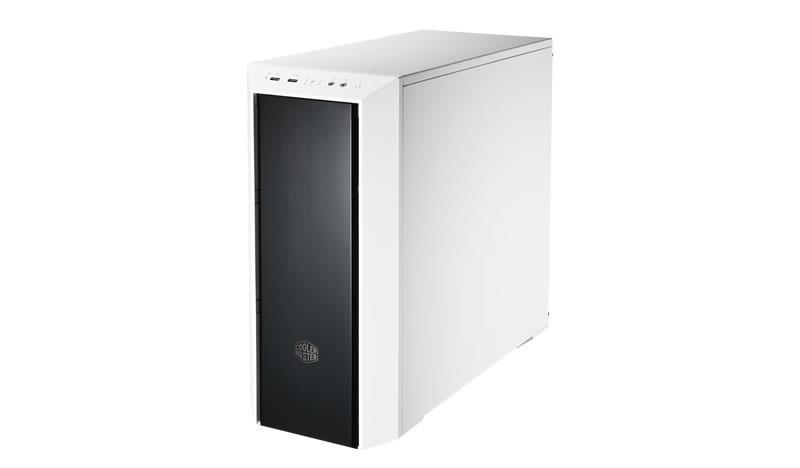 Cooler Master PC skříň MasterBox 5 bílá, s předním panelem (bez zdroje)