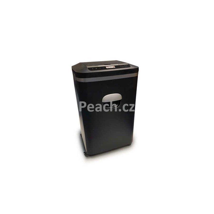 PEACH Micro skartovačka křížový řez PS600-20, 21L, <55 dB