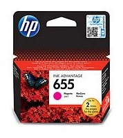 HP 655 Magenta Ink Cart, CZ111AE