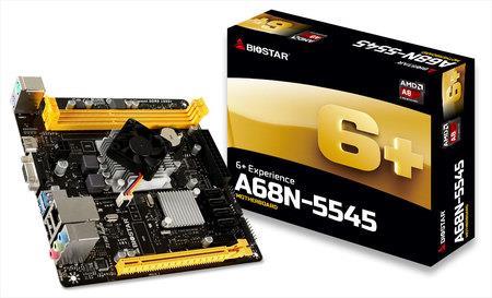 Biostar A68N-5545, MiniITX, DDR3 1333MHz, USB 3.0
