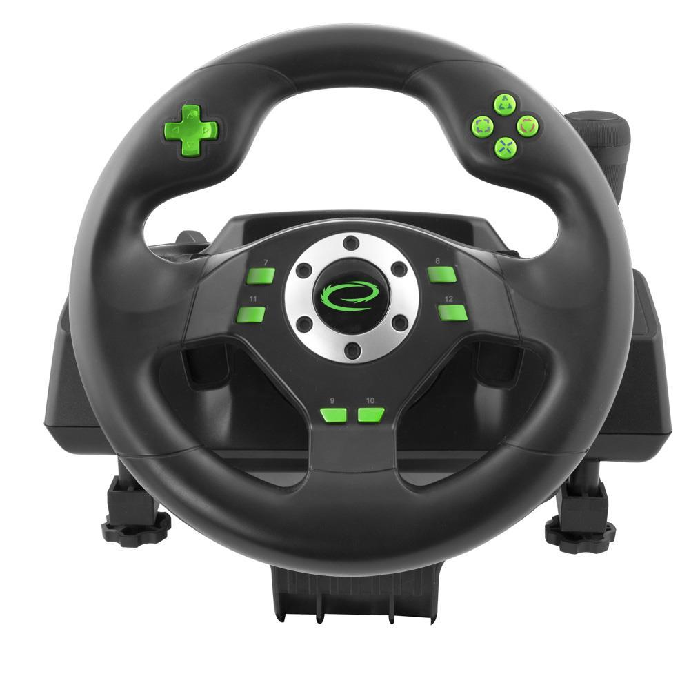 Esperanza EGW101 DRIFT herní volant s vibracemi pro PC/PS3