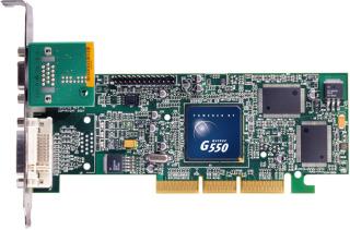 MATROX Millennium G550 32MB DDR, DualHead, AGP, retail
