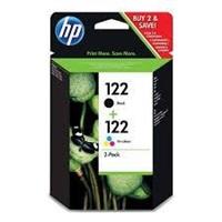 Set HP 122 tri-colour/black Combo Pack
