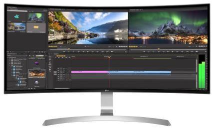 LG Monitor LCD 34UC99-W 34'' IPS, 3440x1440, 5ms