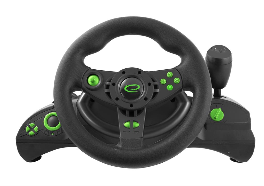 Esperanza EGW102 NITRO herní volant s vibracemi pro PC/PS3