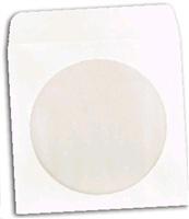 OEM Obálka na CD papírová s okénkem (balení 100ks)