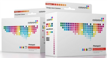 Photopack   COLOROVO inks + 20 sheet glossy paper   Canon PGI-520, CLI-521