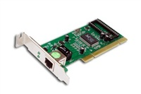 Repotec PCI karta, 1000Base-T, 32bit, low profile, Realtek